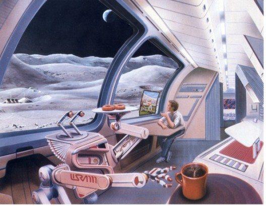 Kann man bald auch im Weltraum mit PayPal bezahlen? (© PayPal / Pat Rawlings und j. Spencer)