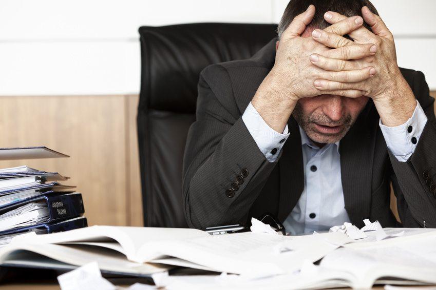 Überlastung ist Alltag in vielen Banken. (Bild: lichtmeister - fotolia.com)