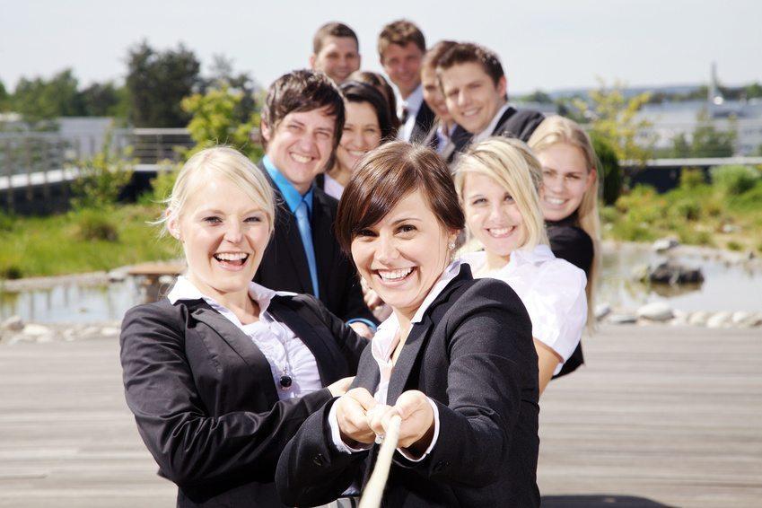 Unternehmenskultur ist eine Strategie, die sich jede Firma auf die Fahnen schreiben sollte. (Bild: Freund - fotolia.com)