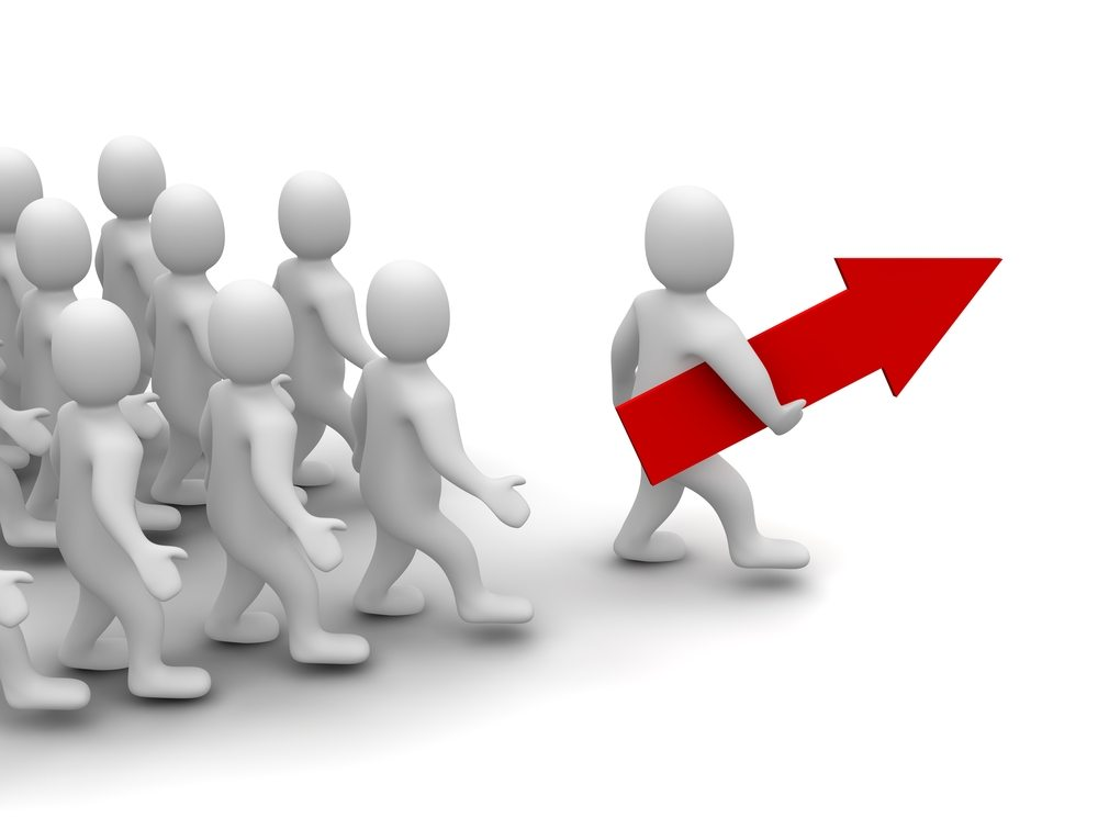 Teamleiter. (Bild: skvoor / Shutterstock.com)