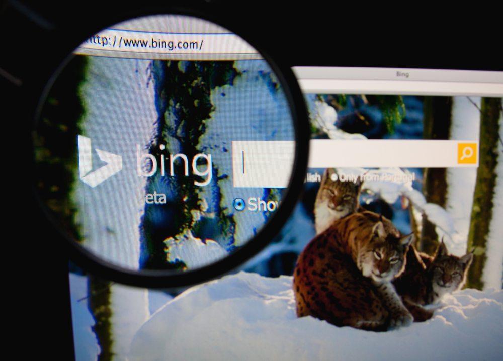 """Microsoft Bing (Bild: <a href=""""http://www.shutterstock.com/gallery-762415p1.html?cr=00&pl=edit-00"""" rel=""""nofollow"""">Gil C</a> / <a href=""""http://www.shutterstock.com/?cr=00&pl=edit-00"""">Shutterstock.com</a>)"""