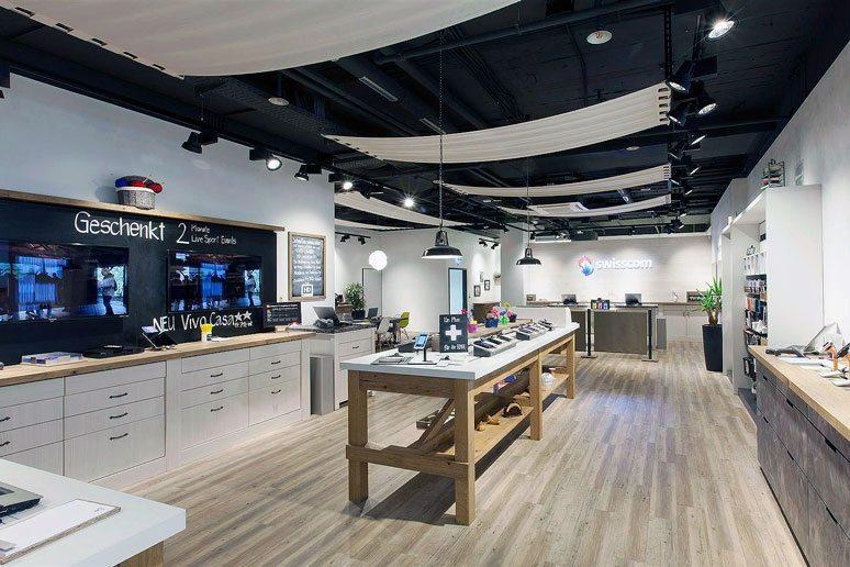 Konzept Swisscom Shops - Brem+Zehnder AG - Bild 1