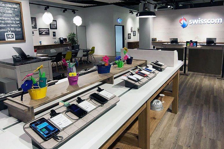 Konzept Swisscom Shops - Brem+Zehnder AG - Bild 2
