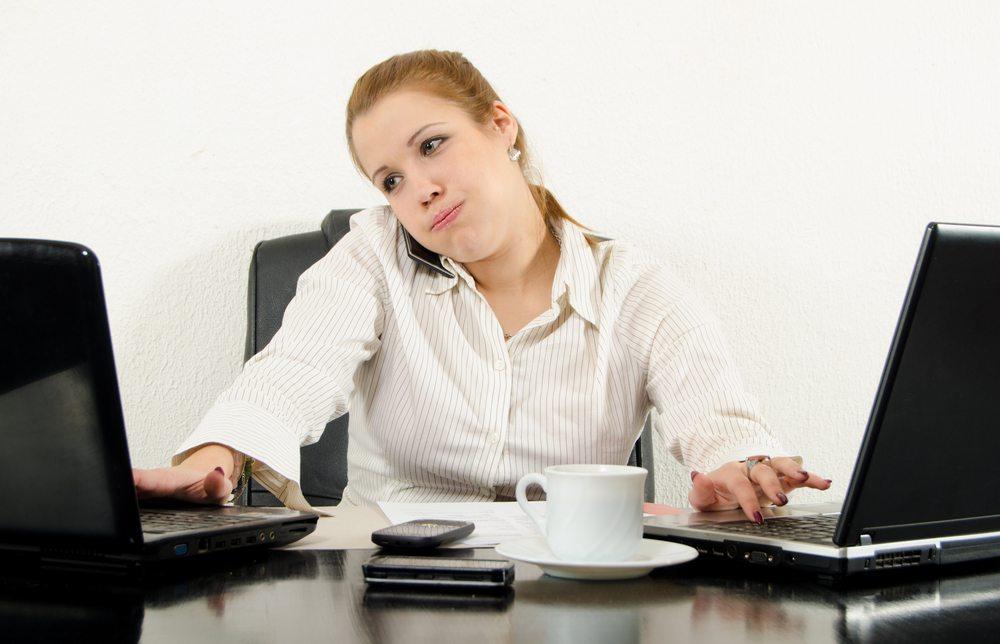 Effektiver ist also die höchstmögliche Konzentration auf eine Aufgabe. (Bild: prudkov / Shutterstock.com)