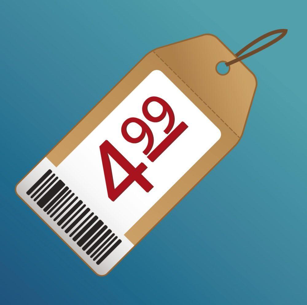 Die dritte Säule in der Kundenwahrnehmung von Produkten und Leistungen ist der Preis. (Bild: Brian A Jackson / Shutterstock.com)