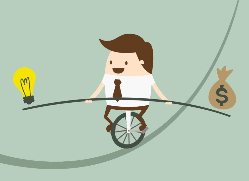 Jede Unternehmensgründung ist ein Wagnis. (Bild: Dooder / Shutterstock.com)