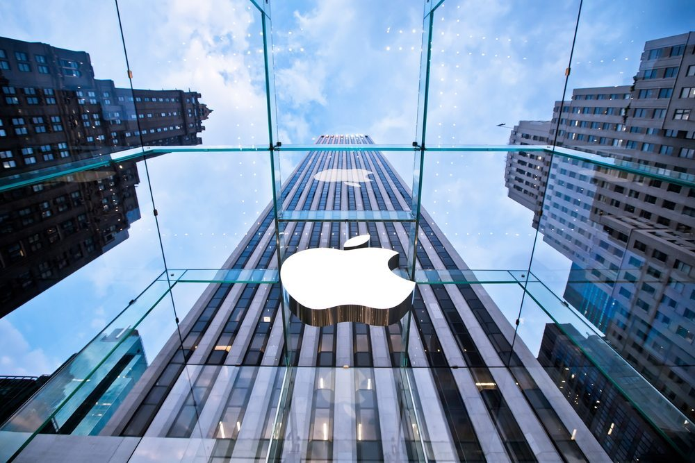 Apple, New York. (Bild: Andrey Bayda / Shutterstock.com)