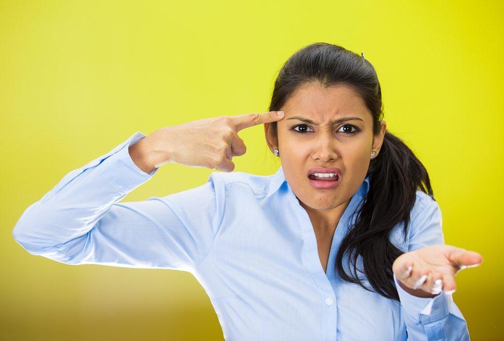 Wer zu viele Emotionen per Gesichtsausdruck transportiert, wirkt schnell aufgesetzt und damit unglaubwürdig. (Bild: PathDoc / Shutterstock.com)