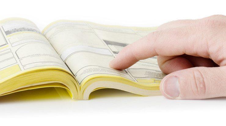 Die Gelben Seiten werden zwar nicht mehr oft als Papierversion abgerufen, im Internet haben sie für KMU dennoch hohe Relevanz. (Bild: © Rob hyrons - Fotolia.com)