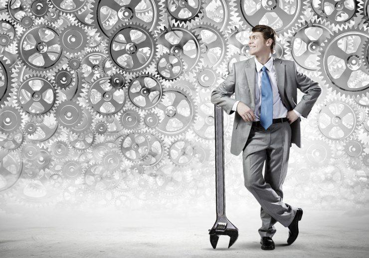 Als KMU Inhaber muss man viele Stellschrauben berücksichtigen. (Bild: © Sergey Nivens - Fotolia.com)