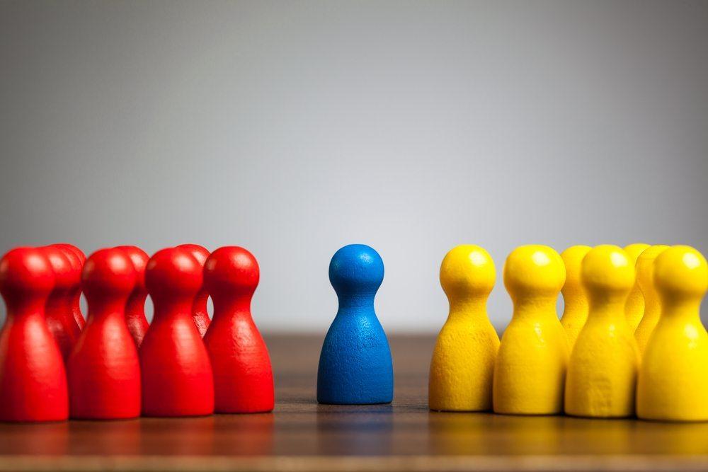 Das Mediationsverfahren ist auf eine einvernehmliche Beilegung von Konflikten gerichtet. (Bild: MichaelJayBerlin / Shutterstock.com)