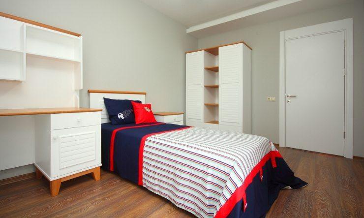 Ein gemütliches Bett garantiert wohligen Schlaf. (Bild: © Arsel - Fotolia.com)