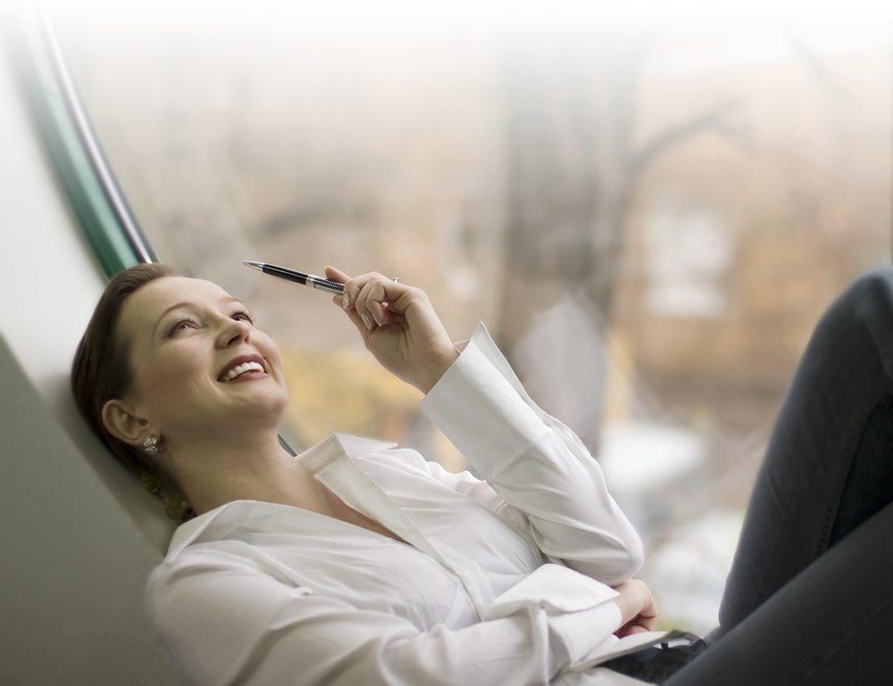 Das positive Denken hat sich verselbstständigt. (Bild: Rudchenko Liliia / Shutterstock.com)