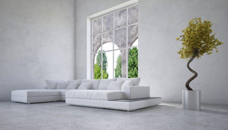 Sich wohlfühlen mit einem schönen Sofa. (Bild: © XtravaganT - Fotolia.com)