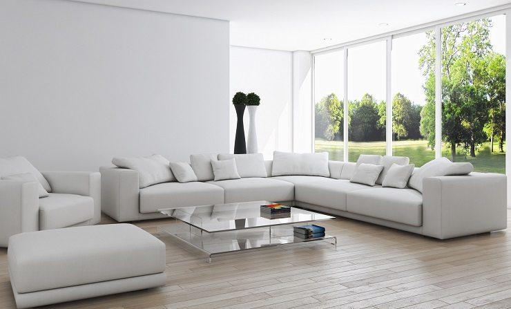 Business24 mehr wohnkomfort durch eine elegante bequeme for Polstergruppe u form