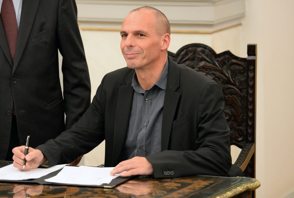 Yanis Varoufakis –  seit dem 27. Januar 2015 ist er Finanzminister der Regierung unter Alexis Tsipras. (Bild: Kostas Koutsaftikis / Shutterstock.com)