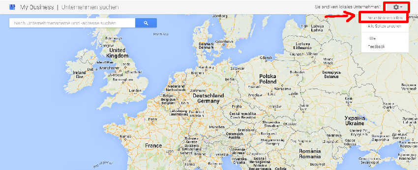 Ein Google-Maps-Eintrag geht sehr einfach. (Quelle: my-business-blog.de)
