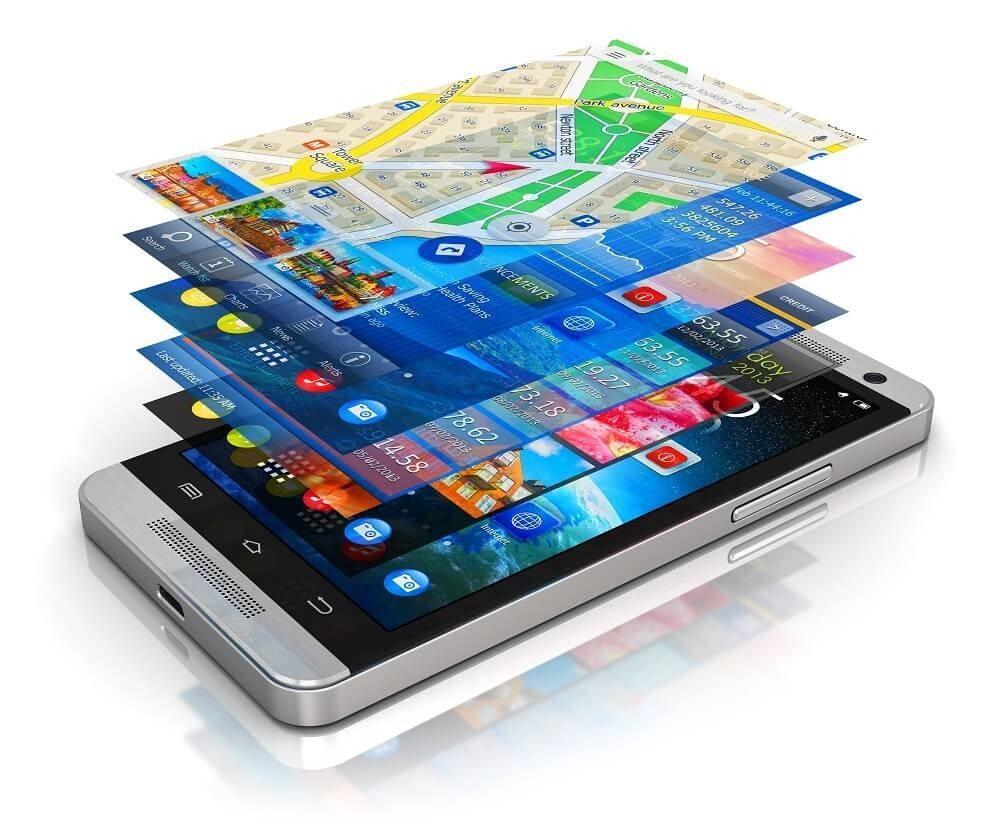 Apps können in drei unterschiedlichen Online Stores gekauft werden, dem Appstore, dem Playstore und dem Windows Store. (Bild: © Oleksiy Mark - fotolia.com)
