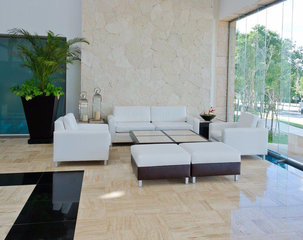business24 stilvoll eingerichtete besucherzonen in unternehmen. Black Bedroom Furniture Sets. Home Design Ideas