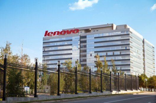 Die Übernahme von IBMs PC-Geschäft verwandelte Lenovo zu einem globalen Unternehmen – Lenovos Firmengebäude in Moskau. (Bild: Julia Kuznetsova / Shutterstock.com)