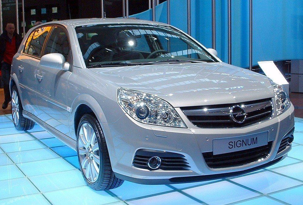 Opel Signum (Bild: © Jdr - wiki.org)