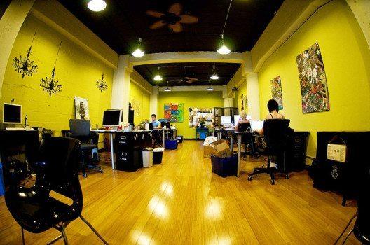 Citizen Space – ein Coworking-Space in San Francisco. (Bild: Josh Hallett, Wikimedia, CC)