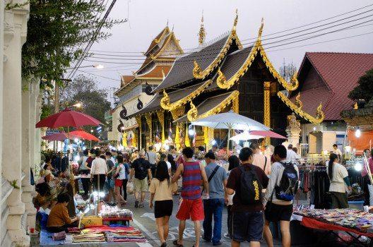 Chiang Mai ist bei digitalen Nomaden sehr beliebt. (Bild: 501room – shutterstock.com)