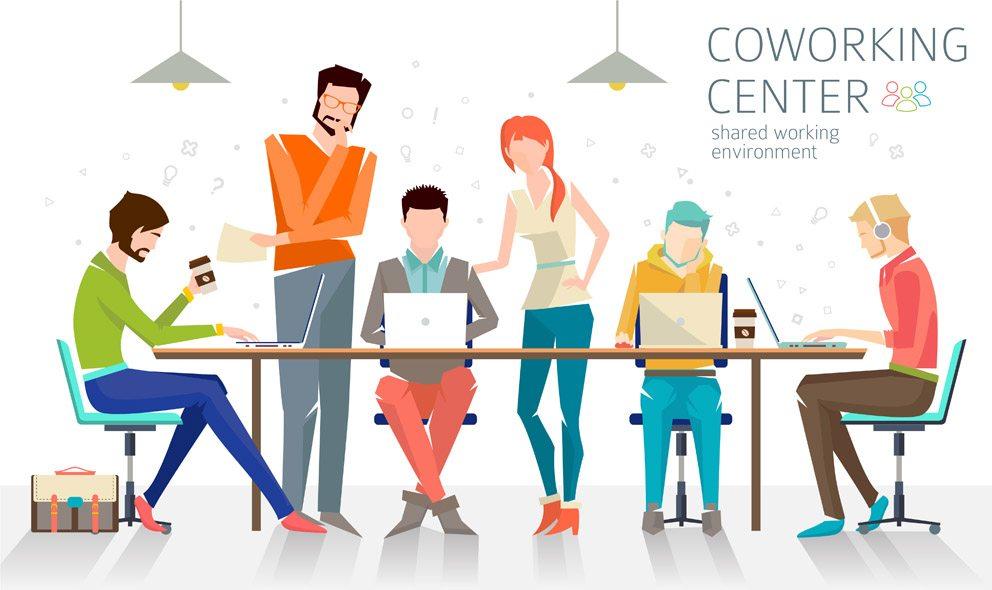 Zum Arbeiten und Vernetzen bieten sich Coworking-Spaces an. (Bild: maverick_infanta – shutterstock.com)