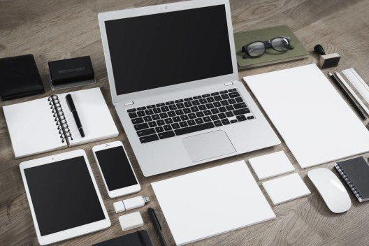 Erfolgreiche Unternehmen brauchen für eine eindeutige Markenkommunikation ein Corporate Design. (Bild: © Twin Design - shutterstock.com)