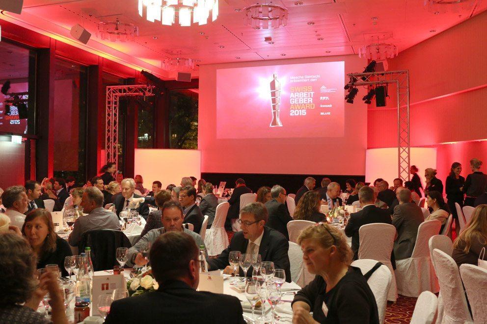 Dinner nach der Preisverleihung (Bild: icommit GmbH)