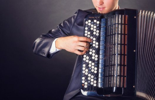 Akkordeon kaufen und sich neue musikalische Dimensionen eröffnen! (Bild: © Artem Furman - shutterstock.com)