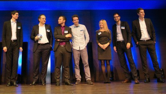 Master of Swiss Apps 2014: SumUp, UBS AG (Bild: obs/Best of Swiss Apps/Pascal Rohner)