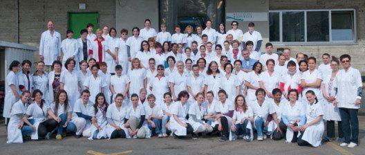 Das Team der Wäscherei Bodensee AG freut sich auf Ihre Aufträge.