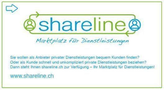 shareline.ch - Marktplatz für Dienstleistungen