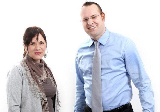 Das Inhaberpaar der Agentur belmedia Magdalena und Philipp Ochsner