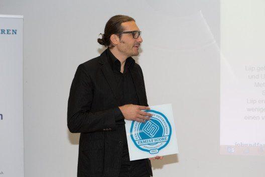 Liip AG: Gewinnerin des Awards, Vertreter: Gerhard Andrey, Gründungsmitglieder (Bild: © Pro Familia Schweiz - fotolia.com)