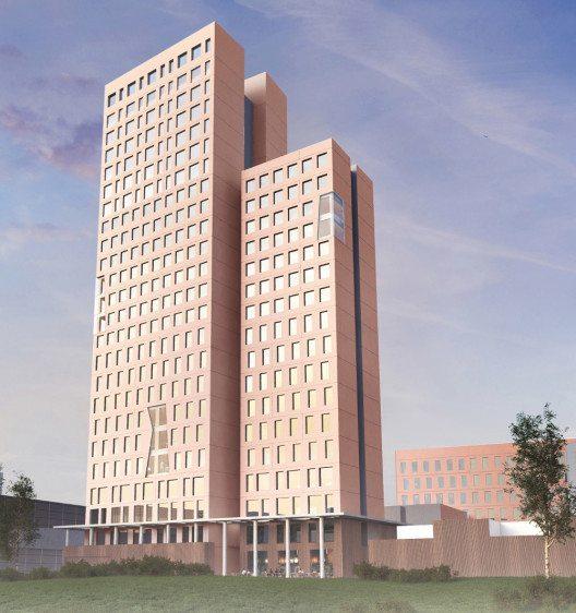 Bewilligt: Holz-Hochhaus in Wien (Bild: OLN OFFICE LE NOMADE   Rüdiger Lainer + Partner)