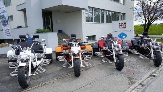 Das Trike als einzigartiges Fahrzeug entdecken (Bild: Trike Center Zürcher Oberland)
