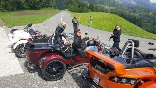 Man kann die Fahrt mit einem Trike als Anreiz für die Mitarbeiter setzen. (Bild: Trike Center Zürcher Oberland)