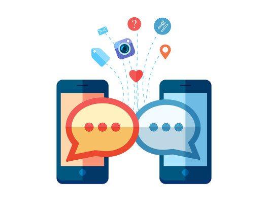"""Die Messenger-App """"Hike"""" könnte zur WhatsApp-Konkurrenz werden, jetzt steigen Chinesen ein. (BIld: © E_K - shutterstock.com)"""