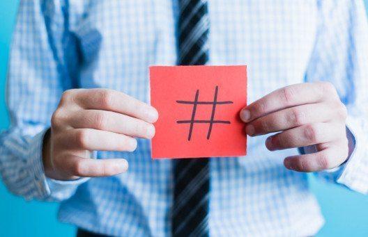 Hashtags gehören zum Twitter-Instrumentarium. (Bild: file404 - Shutterstock)