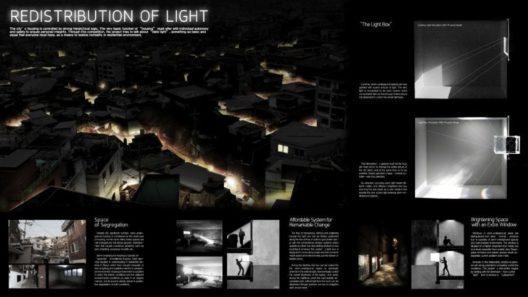 Redistribution of Light (Neuverteilung des Lichts)