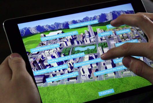 Mit dieser AMAG App macht die Lehrstellensuche besonders viel Spass! (Bild: AMAG)