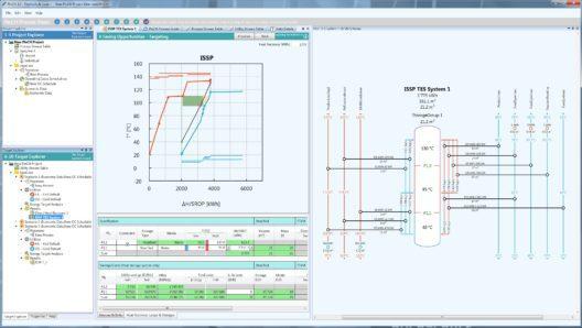 Benutzeroberfläche der Engineering-Software PinCH 3.0