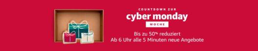 Cyber Monday Woche auf Amazon.de (Bild: obs/Amazon.de)
