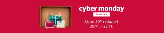 Tausende Angebote am heutigen Freitag auf Amazon.de im Rahmen der Cyber Monday Woche (Bild: obs/Amazon.de)