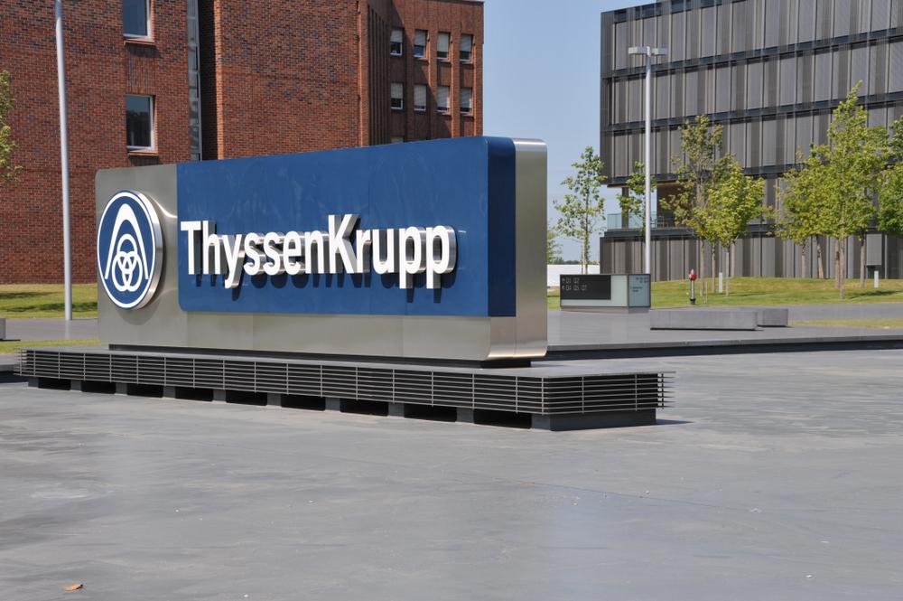 ThyssenKrupp zeigt wieder positive Tendenzen. (Bild: nitpicker - shutterstock.com)